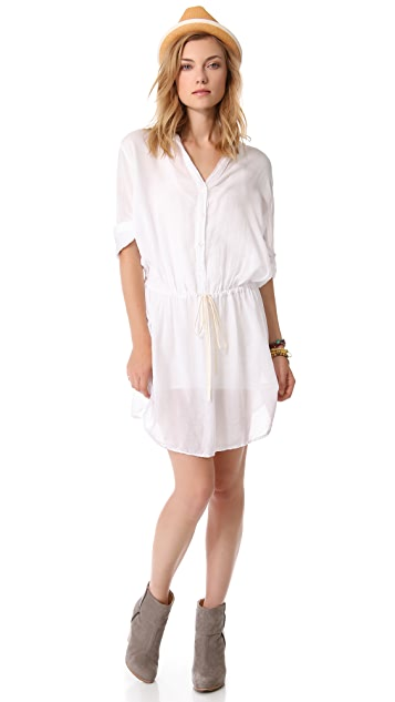 Enza Costa Henley Tunic / Dress