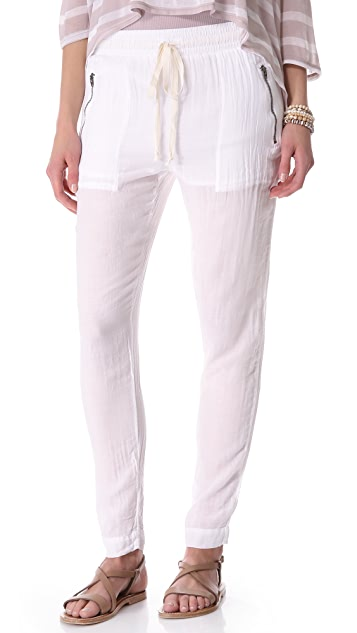 Enza Costa Drawstring Pants
