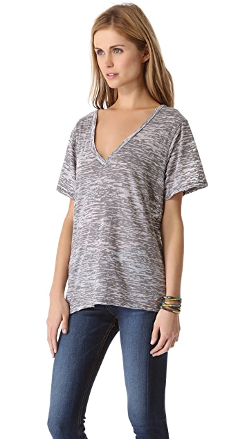 Enza Costa Loose V Tee