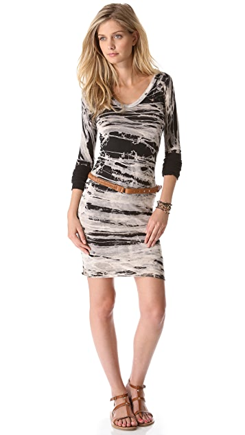 Enza Costa U Neck Dress