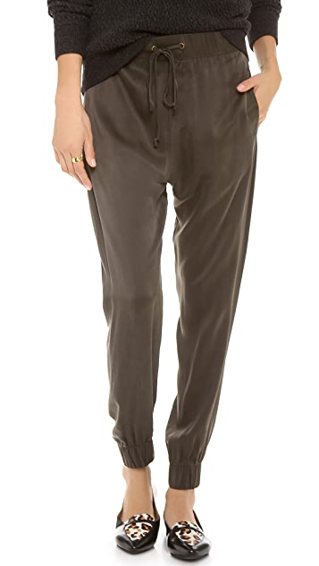 Enza Costa Silk Lounge Pants