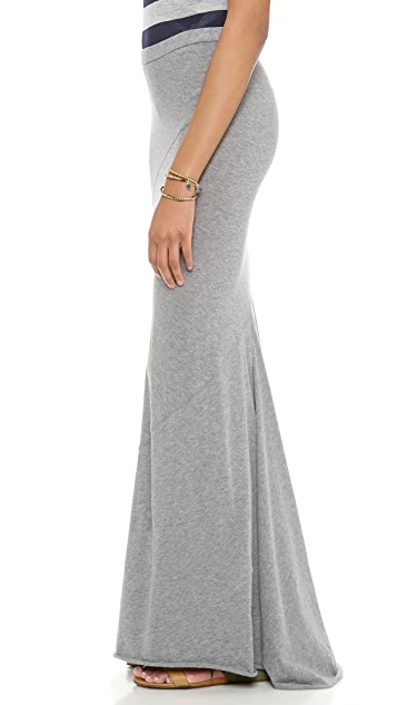 Enza Costa Cashmere Twist Skirt