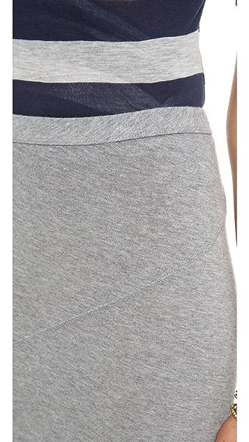 Enza Costa Cashmere Twist Skirt