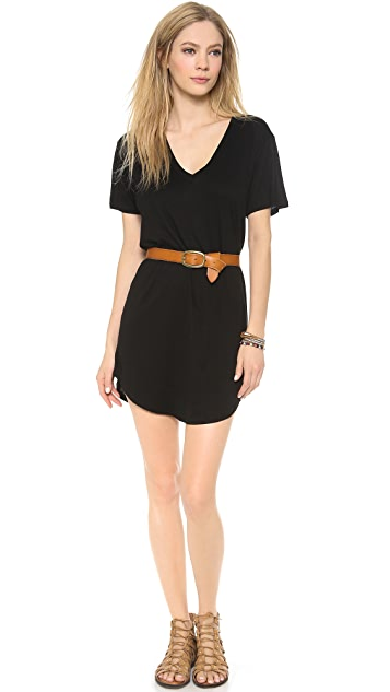 Enza Costa Baseball V Dress
