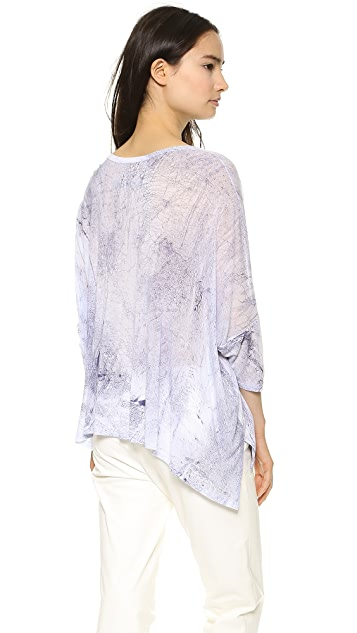 Enza Costa Oversized Top