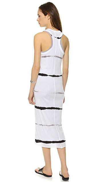 Enza Costa Bold Double Racer Dress