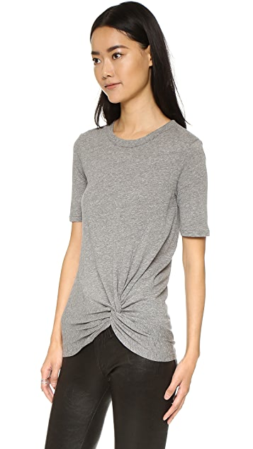 Enza Costa Side Knot Tee