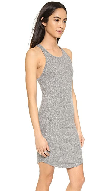 Enza Costa Rib Sheath Tank Dress