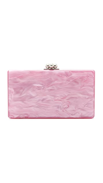 Edie Parker Jean High Tide Clutch