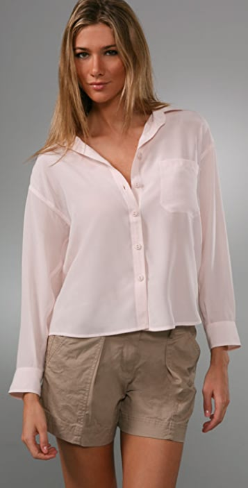 Equipment Adelaide Washed Silk Blouse