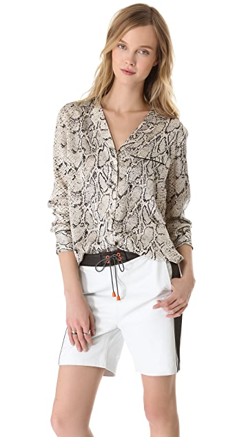 b616c0c51505d5 Equipment Keira Python Blouse | SHOPBOP