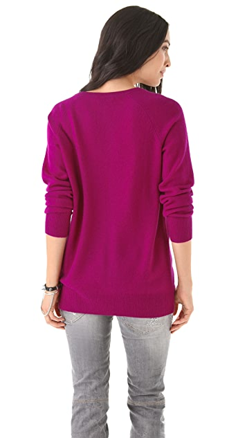 Equipment Asher Cashmere V Neck Sweater