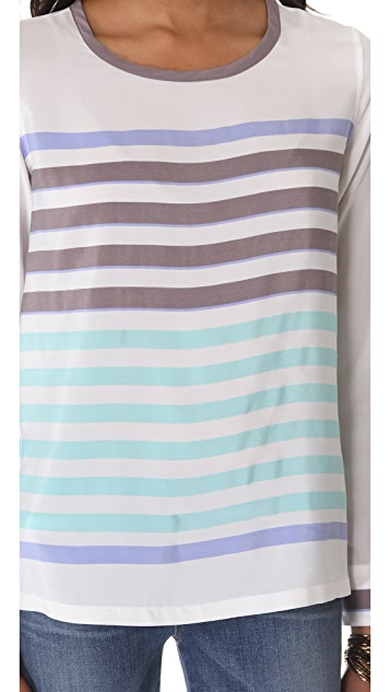 Equipment Liam Stripe Tee