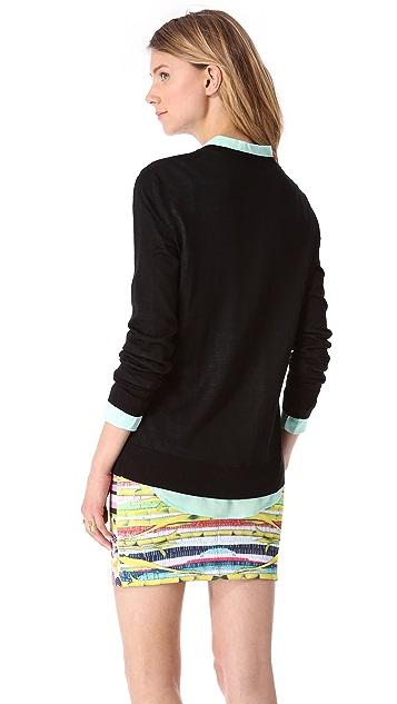 Equipment Sandy V Neck Sweater