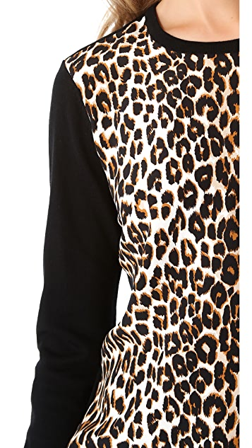 Equipment Roland Underground Leopard Sweater