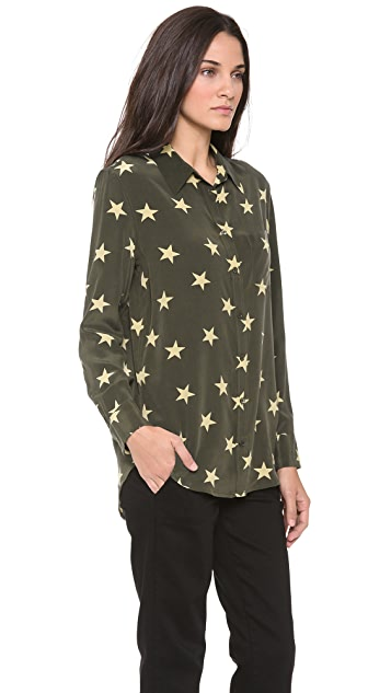 Equipment Star Sketch Blouse