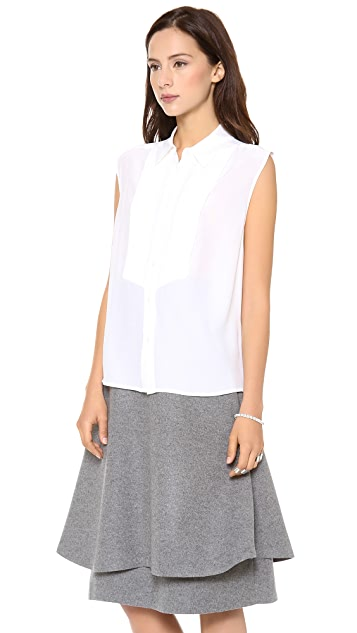 Equipment Tuxedo Diem Blouse