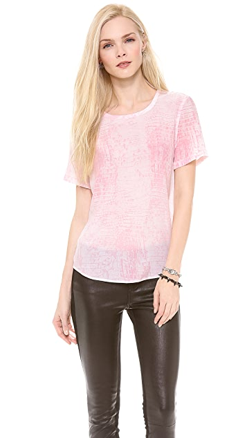 Equipment Riley Silk Tee