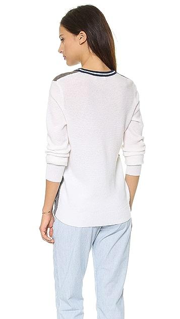 Equipment Genevieve V Neck Sweater