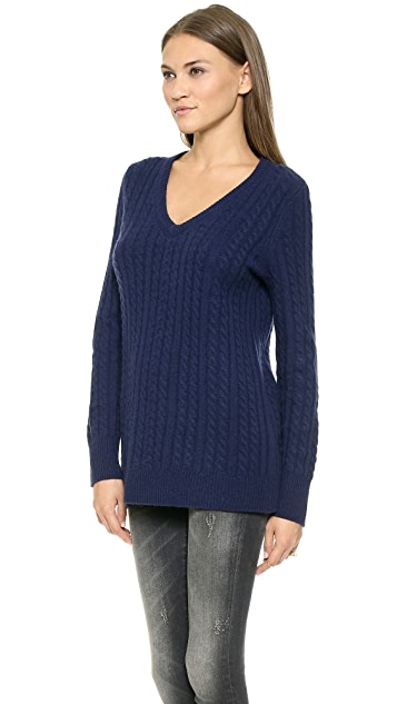 Equipment Whitney V Neck Sweater