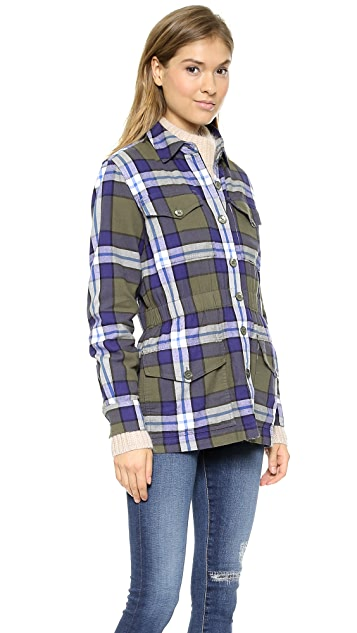Equipment Monroe Flannel Jacket