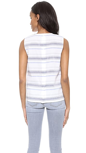 Equipment Reagan Sleeveless Top