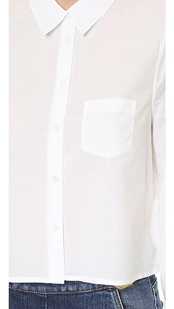 Equipment Cropped Mina Shirt