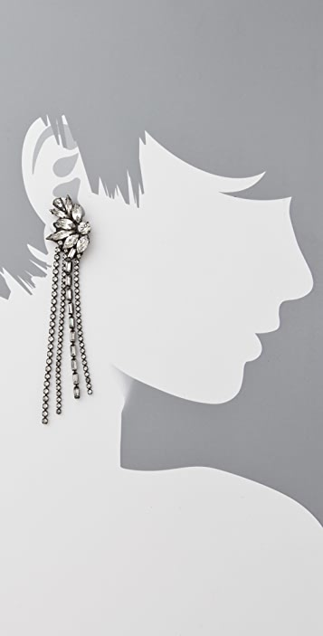 Erickson Beamon Chain Gang Earrings