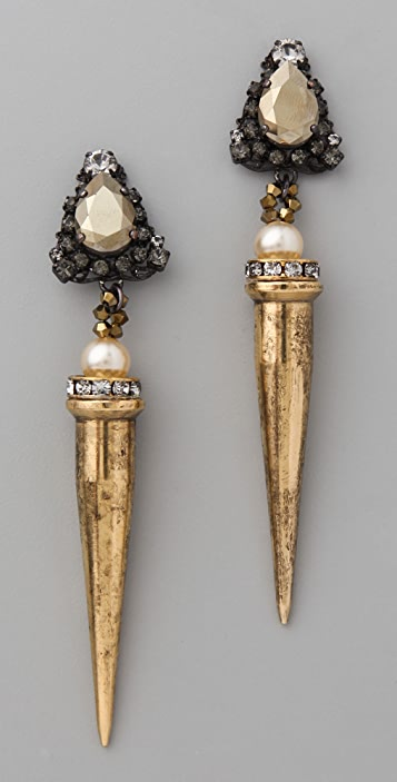 Erickson Beamon Beauty & The Beast Earrings