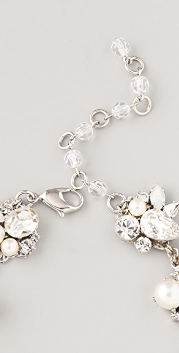 Erickson Beamon White Wedding Necklace