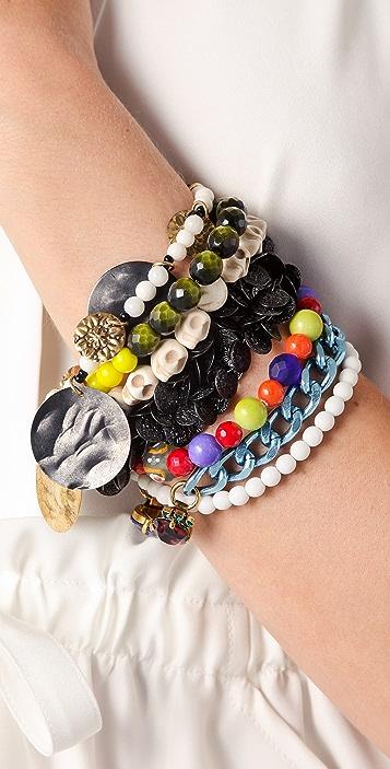 Erickson Beamon Eccentric Lady Land Bracelet