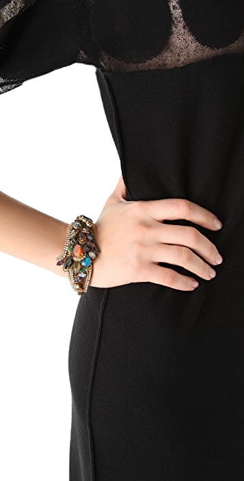 Erickson Beamon Rear Window Bracelet