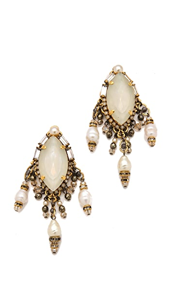 Erickson Beamon Girlie Queen Earrings
