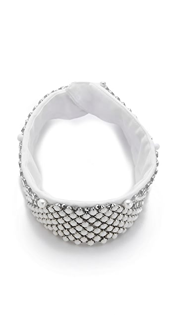 Erickson Beamon Twisted Sister Collar