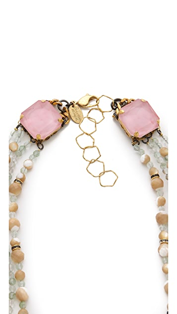 Erickson Beamon Pretty in Punk Layered Necklace