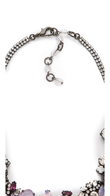 Erickson Beamon Pretty in Punk Crystal Collar