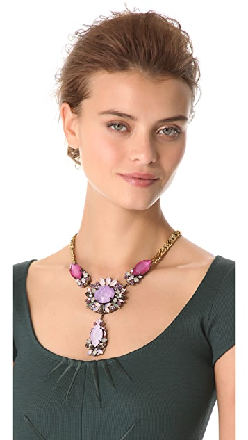 Erickson Beamon Pretty in Punk Crystal Necklace