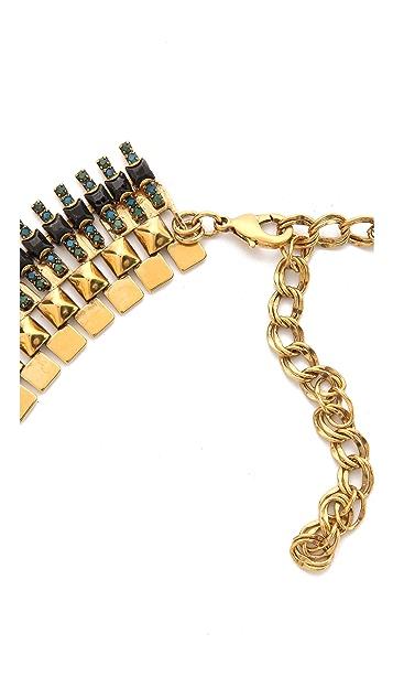 Erickson Beamon Aquarella Do Brasil Asymmetrical Necklace