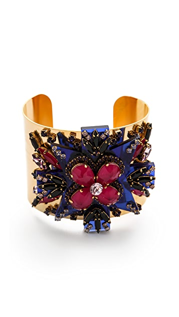 Erickson Beamon Girls On Film Cuff Bracelet