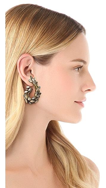 Erickson Beamon Whiter Shade Of Pale Earrings