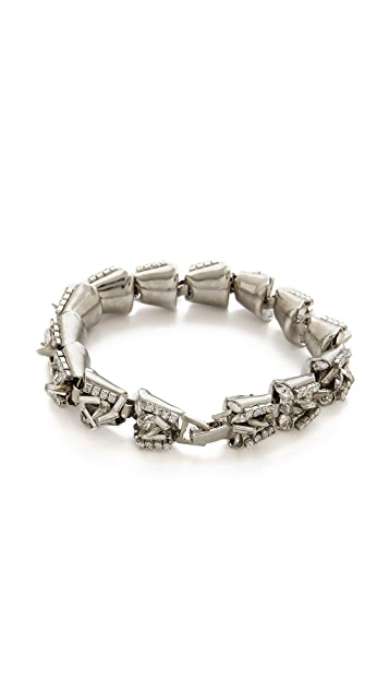 Erickson Beamon The Shining Spike & Crystal Bracelet
