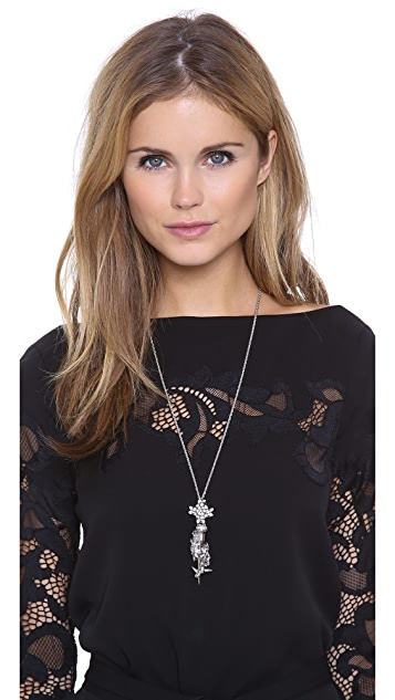 Erickson Beamon The Shining Crystal Pendant Necklace