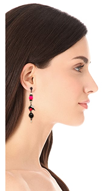 Erickson Beamon We've Got The Power Earrings