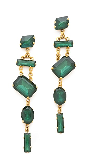 Erickson Beamon Family Jewels Drop Earrings