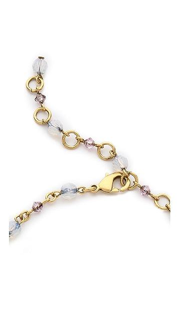 Erickson Beamon White Wedding Statement Necklace