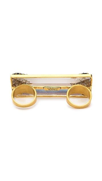 Erickson Beamon Velocity Multifinger Ring