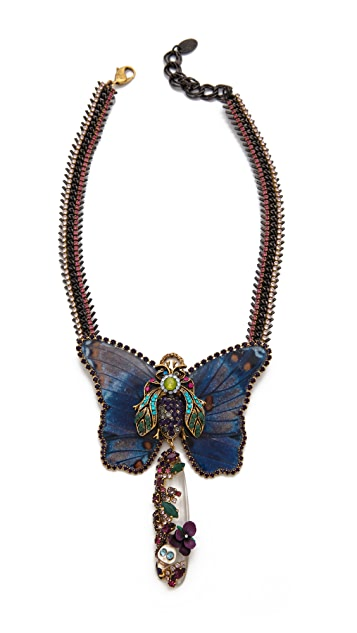 Erickson Beamon Butterflies Are Free Necklace