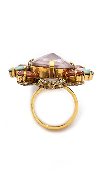 Erickson Beamon Cosmic Code Ring
