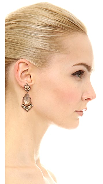 Erickson Beamon Cosmic Code Statement Earrings