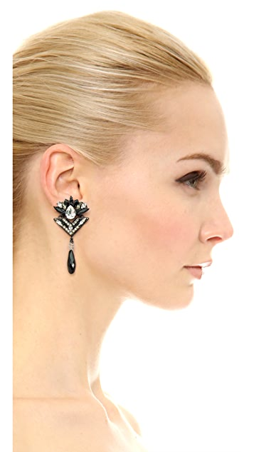Erickson Beamon Mind's Eye Earrings